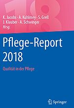 Cover der WIdO-Publikation Pflege-Report 2018